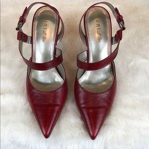 540e7dcb0e Unisa Shoes | Paola Heels In Deep Red | Poshmark